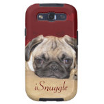Cute iCuddle Pug Puppy Samsung Galaxy SIII Covers