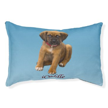 Valentines Themed Cute iCuddle Puppy Dog Pet Bed