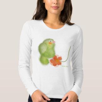 Cute Illustration fine Jersey Long Sleeve T-Shirt