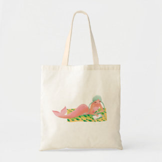 Cute illustration of mermaids' day on the Beach Tote Bag