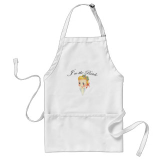 Cute I'm the Bride Hen Party Bridal Shower Adult Apron