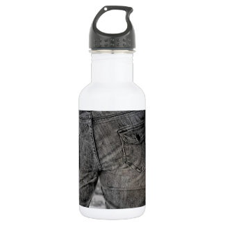 Cute In Jeans Stainless Steel Water Bottle