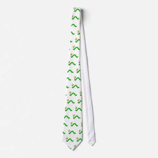 Cute Inchworm with an idea! Tie