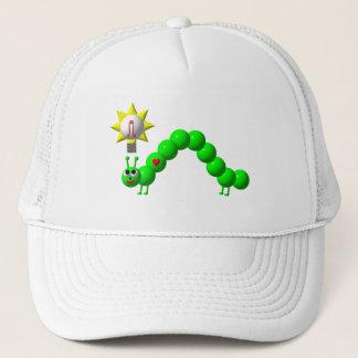 Cute Inchworm with an idea! Trucker Hat
