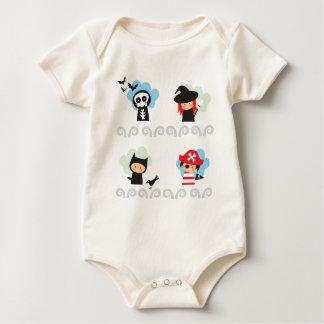 Cute Infant Organic Baby Bodysuit