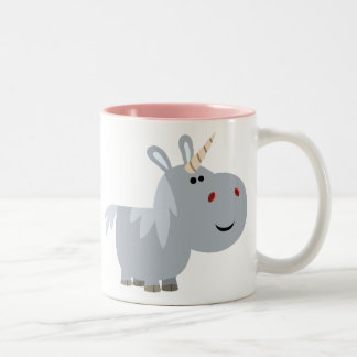 Cute Inscrutable Cartoon Unicorn Mug