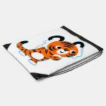 Cute Interested Cartoon Tiger Drawstring Backpack