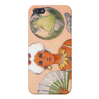 Cute iphone 4 case Hot Mother Earth Global Warming