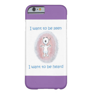 "Cute iPhone 6/6s Case / ""I want to be heard"""