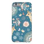 Cute iPhone 6 case, bird, deer