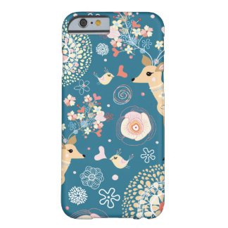 Cute iPhone 6 case, bird, deer Barely There iPhone 6 Case