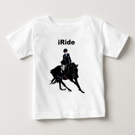 Cute iRide Infant Horse Baby T-Shirt