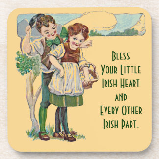 cute irish blessing coaster