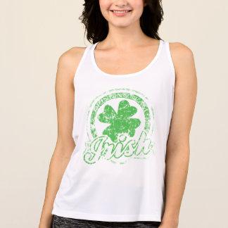 Cute Irish Drinking Team Tank Top