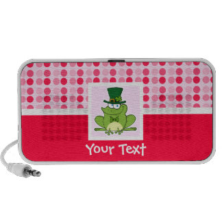 Cute Irish Frog Travelling Speaker