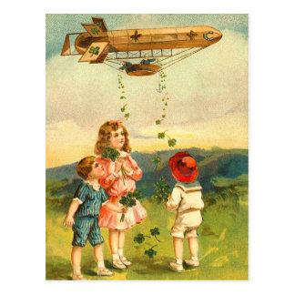 Cute Irish Kids Postcards