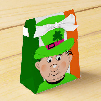 Cute Irish Leprechaun Favor Box