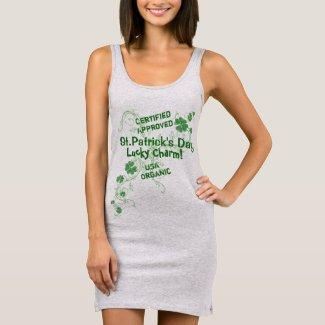 Cute Irish Lucky Charm. St. Patrick's Day Sleeveless Dress