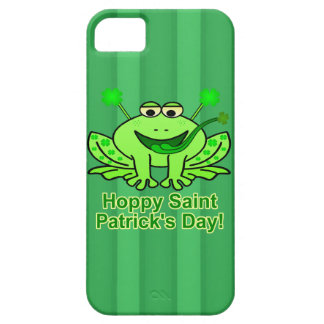 Cute Irish Saint Patrick's Day Frog iPhone 5 Cover