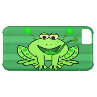 Cute Irish Saint Patrick's Day Frog iPhone 5C Cover