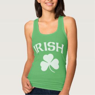 Cute Irish Shamrock St. Patrick's Day Tank Top