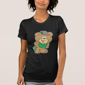 cute irish st paddy boy teddy bear lad design t-shirt