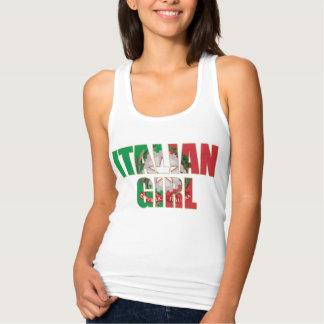 Cute Italian Girl Tank Top