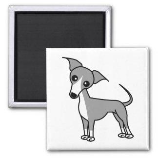Cute Italian Greyhound - Grey Magnet