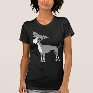 Cute Italian Greyhound - Grey Shirt