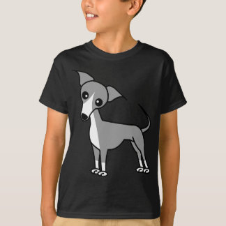 Cute Italian Greyhound - Grey T-Shirt