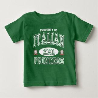 Cute Italian Princess Dark Baby T-Shirt