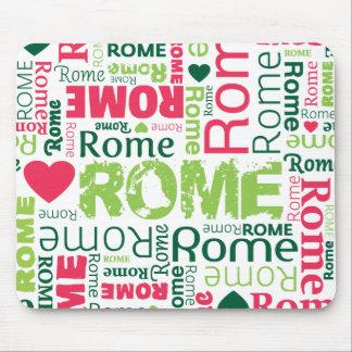 Cute italy rome souvernir mousepad