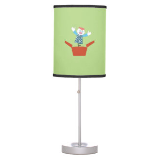 Cute Jack in the Box Table Lamp