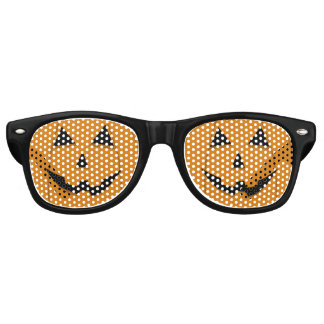 Cute Jack-O-Lantern Halloween Party Costume Shades Wayfarer Sunglasses