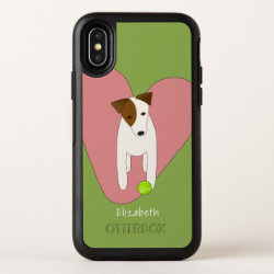 OtterBox Apple iPhone X Symmetry Case with Jack Russell Terrier Phone Cases design