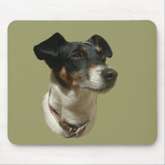 Cute Jack Russell Dog Mouse Pad