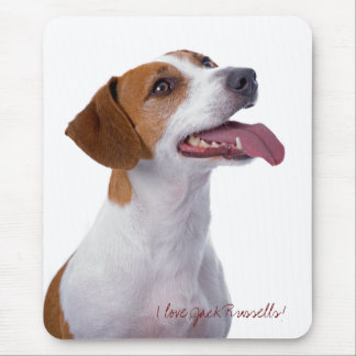 Cute Jack Russell Mousepad
