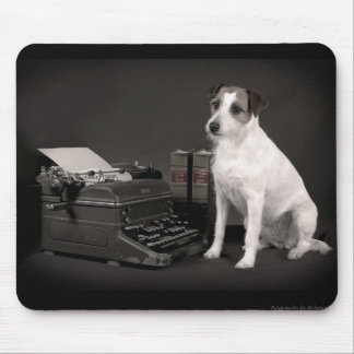 Cute Jack Russell Mouse Pad