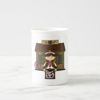 Cute Jailhouse Cowboy China Coffee Cup Tea Cup