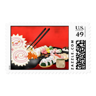 Cute Japanese Foods Stamps