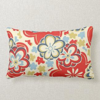 Cute Japanese Oriental Chiyogami Yuzen Flower Throw Pillows