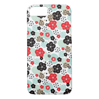 Cute Japanese patterns design iPhone 7 Case