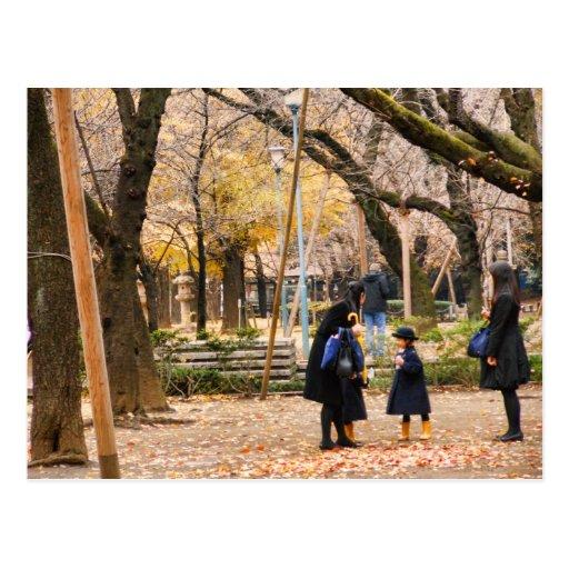 Cute Japanese Photo Postcard