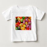 Cute Jelly Bean Smileys Baby T-Shirt