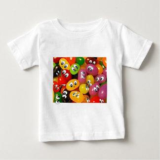Cute Jelly Bean Smileys Baby T-Shirt