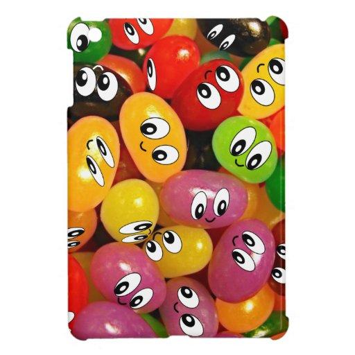 Cute Jelly Bean Smileys Case For The iPad Mini