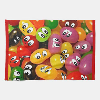 Cute Jelly Bean Smileys Towels