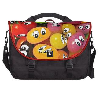 Cute Jelly Bean Smileys Commuter Bags