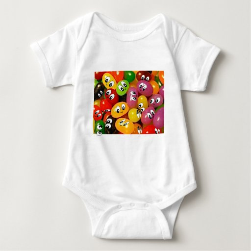 Cute Jelly Bean Smileys T-shirt