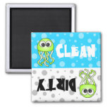 Cute Jellyfish Clean / Dirty Dishwasher Magnet